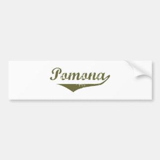 Pomona  Revolution t shirts Car Bumper Sticker