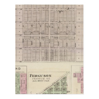 Pomona, Richmond, Ferguson y Peoria Tarjetas Postales