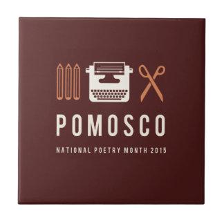 PoMoSco Small Square Tile