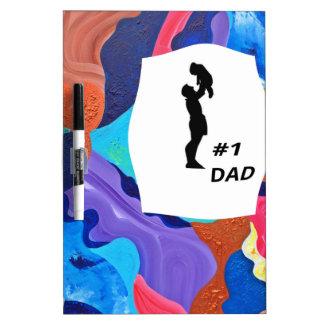 Pomp #1 Dad Dry-Erase Board