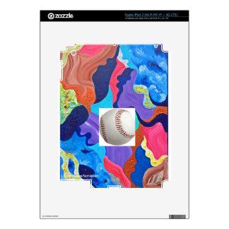 Pomp Baseball iPad 3 Decal