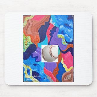 Pomp Baseball Mouse Pad