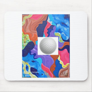 Pomp Golf Ball Mouse Pad