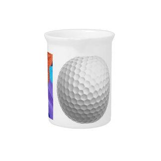 Pomp Golf Ball Drink Pitcher