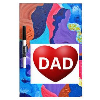 Pomp Love Dad Dry-Erase Board