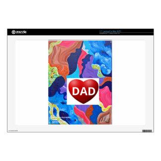 Pomp Love Dad Laptop Decal