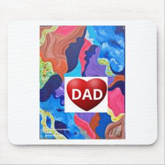 Pomp Love Dad Mouse Pad