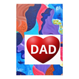 Pomp Love Dad Stationery