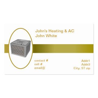 pompa de calor exterior tarjeta de negocio