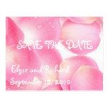 Pompa-Reserva rosada la fecha Postal