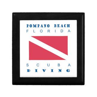 Pompano Beach Florida Gift Box