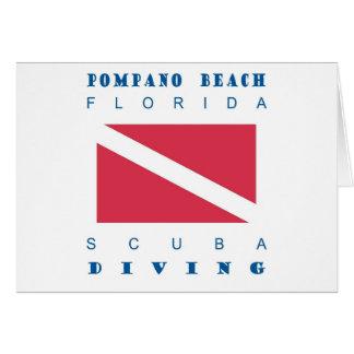 Pompano Beach Florida Greeting Card