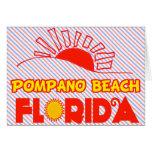 Pompano Beach, Florida Greeting Cards