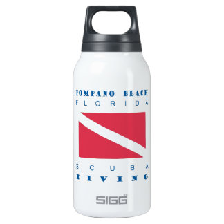 Pompano Beach Florida Insulated Water Bottle