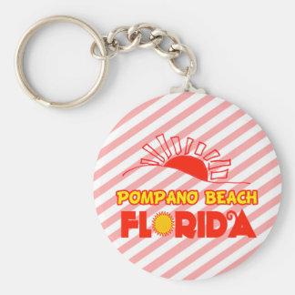 Pompano Beach, Florida Keychain