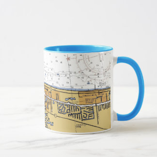 Pompano Beach, Florida Nautical Chart Coffee Mug
