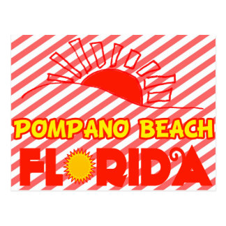 Pompano Beach, Florida Post Card