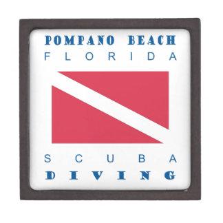 Pompano Beach Florida Premium Jewelry Box