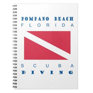 Pompano Beach Florida Spiral Note Books