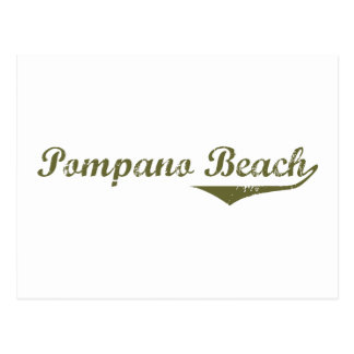 Pompano Beach  Revolution t shirts Postcard