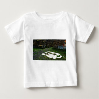 Pompei - Marble Fountain in the Garden of a Villa Baby T-Shirt