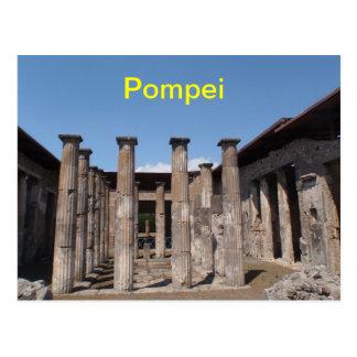 Pompei postcard