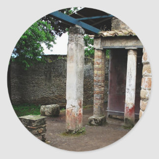 Pompei - Ruins of a Villa Sticker