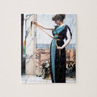 Pompeian Lady Woman painting Godward Puzzle