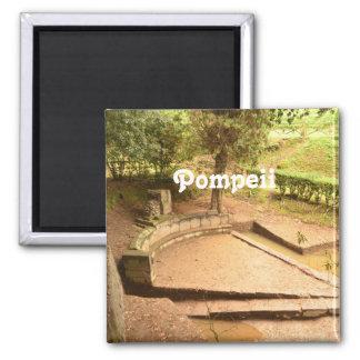 Pompeii 2 Inch Square Magnet