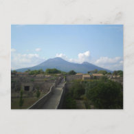 Pompeii after the Volcano Postcards
