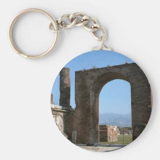 Pompeii, archaeological site keychain