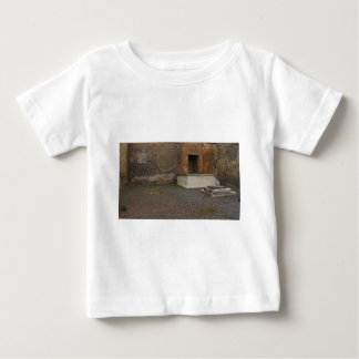 Pompeii- Base of a Column..Relic of Antiquity Baby T-Shirt