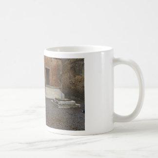Pompeii- Base of a Column..Relic of Antiquity Classic White Coffee Mug