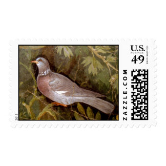 POMPEII COLLECTION / DOVE IN THE GARDEN POSTAGE STAMP