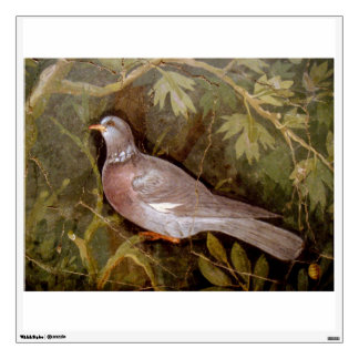 POMPEII COLLECTION / DOVE IN THE GARDEN WALL STICKER