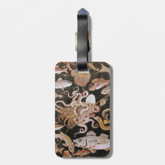 POMPEII COLLECTION / OCEAN - SEA LIFE SCENE BAG TAG