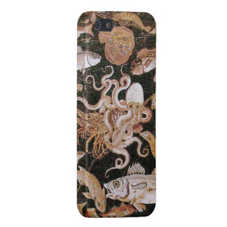 POMPEII COLLECTION / OCEAN - SEA LIFE SCENE CASE FOR iPhone SE/5/5s