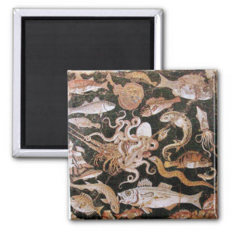 POMPEII COLLECTION / OCEAN - SEA LIFE SCENE MAGNET