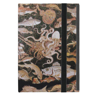 POMPEII COLLECTION  OCEAN -SEA LIFE SCENE Nautical Cover For iPad Mini