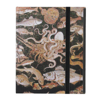POMPEII COLLECTION  OCEAN -SEA LIFE SCENE Nautical iPad Folio Case