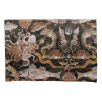 POMPEII COLLECTION/OCEAN - SEA LIFE SCENE Nautical Pillow Case