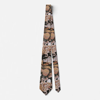 POMPEII COLLECTION / OCEAN - SEA LIFE SCENE NECK TIE