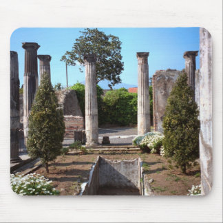 Pompeii, Colonnaded courtyard Mouse Pad