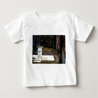 Pompeii - Courtyard with white marble fountains Baby T-Shirt