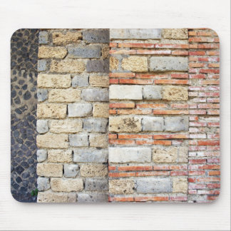 Pompeii Decorative Wall at the Stadium Mouse Pad