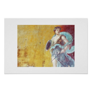 Pompeii Fresco Poster