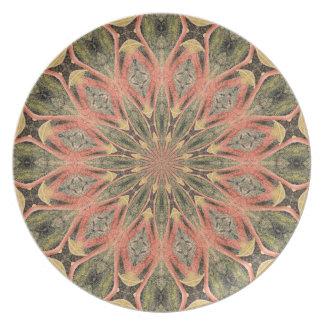 Pompeii Garden Fresco Companion Print Dinner Plate