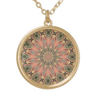 Pompeii Garden Fresco Companion Round Pendant Necklace