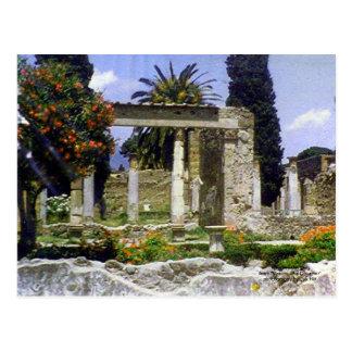 Pompeii Garden Postcard