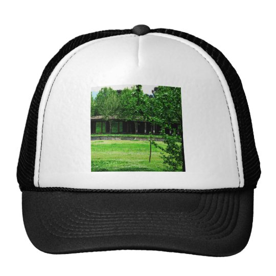 Pompeii - Greenspace with ruins Trucker Hat